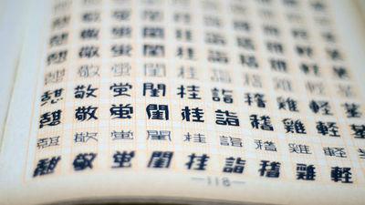 膨大な種類の漢字を網羅する中国語フォントを作成する方法とは ...