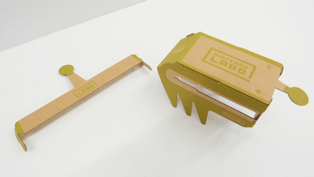 I Tried Assembling A Remote Control Car Toy Con Of Nintendo Labo Circuit The Following Image Was Completed In About 15 Minutes Switch Antenna On Left And Body Right