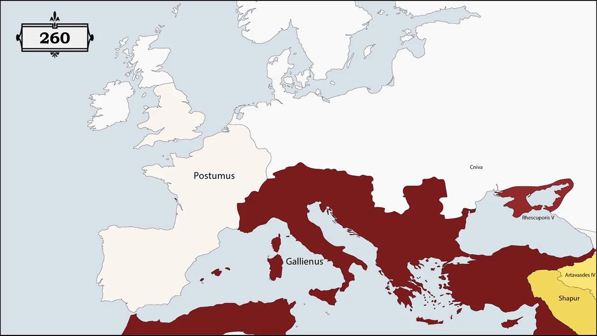 過去2500年のヨーロッパの国々が統治者によってどれだけ領土が変わってきたか一目でわかるムービー