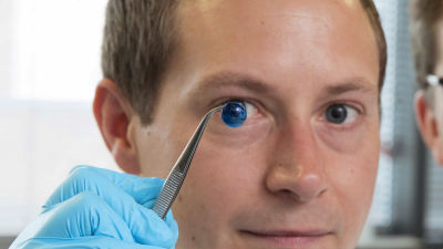 3Dプリンターで人間の角膜を作り出すことに成功、短時間かつ安価に作成可能で世界的な角膜不足に光