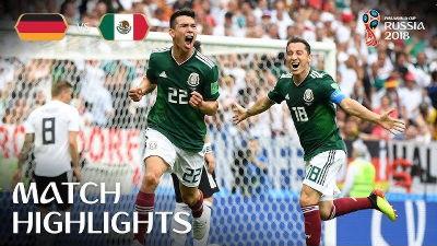 ワールドカップでメキシコがゴー...