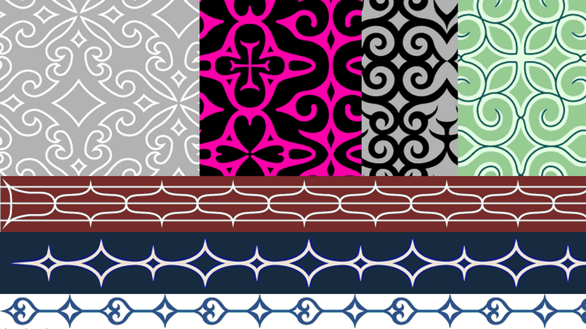 56b86018b1c6f  Ainu pattern free material Moleau  which can get a lot of free materials  with Ainu pattern which can be used for commercial purposes as a motif