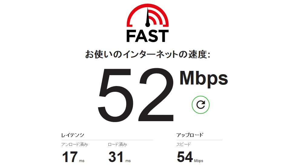通信速度測定サイト「Fast.com」がアップロード速度とレイテンシの測定に対応