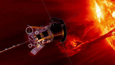 太陽に超接近する探査機はなぜ熱で溶けないのか?