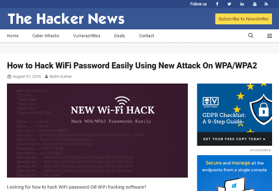 How to easily steal passwords from the latest Wi-Fi router by
