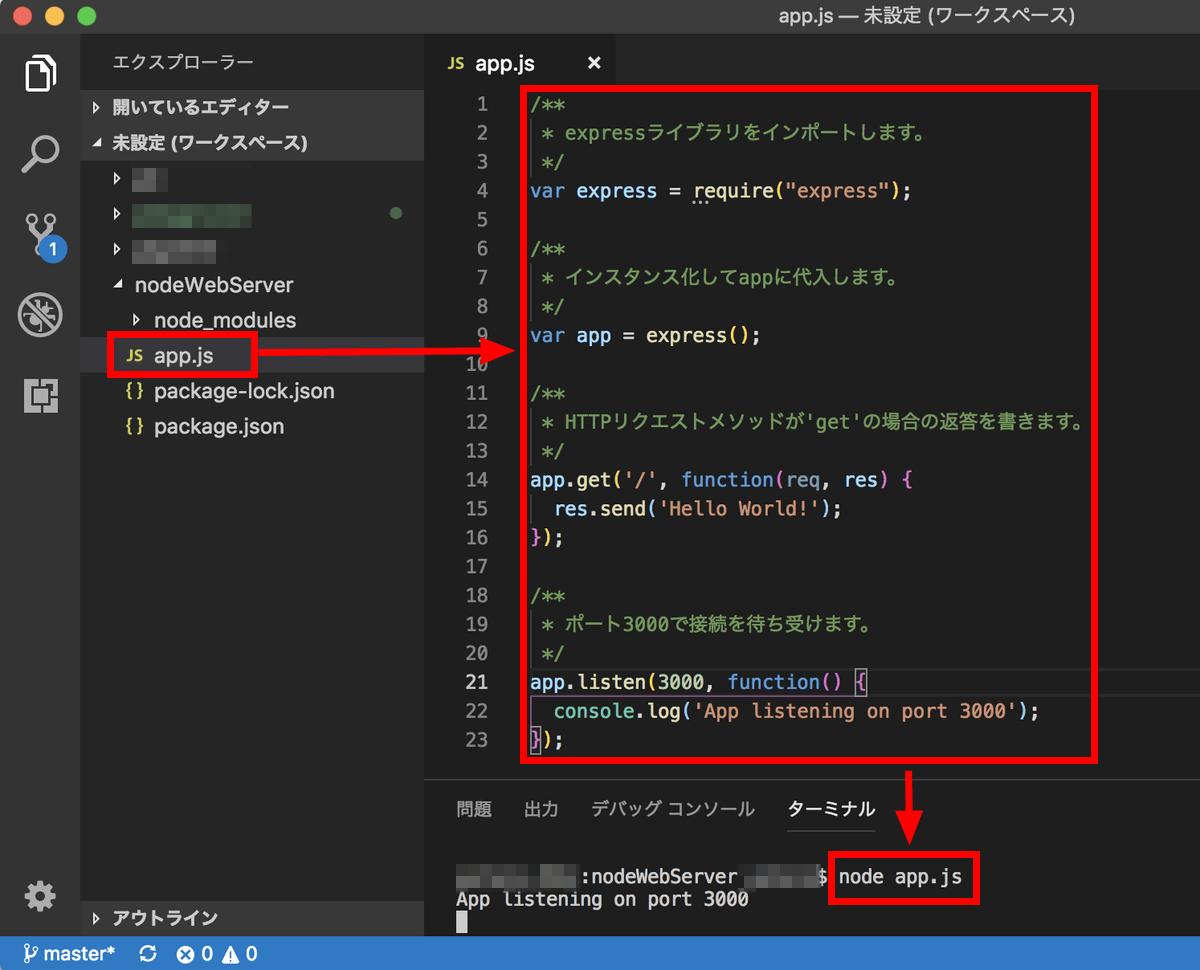 I tried to autoscale Web server with Node js using PaaS 'App