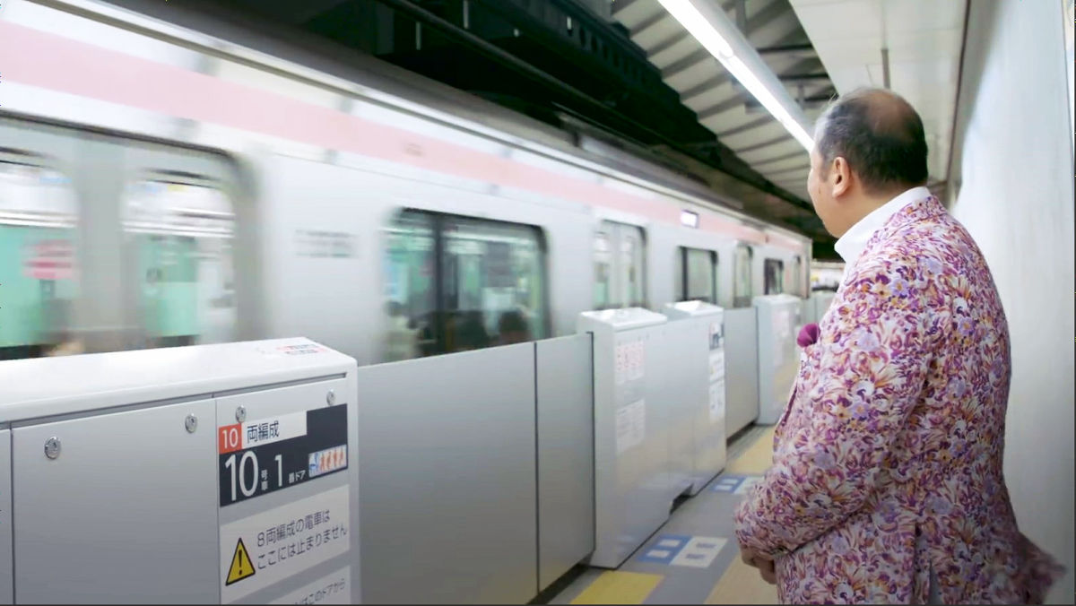 What Is The Secret Concealed By Departure Melody Of Tokyo Metro Tozai Line Gigazine