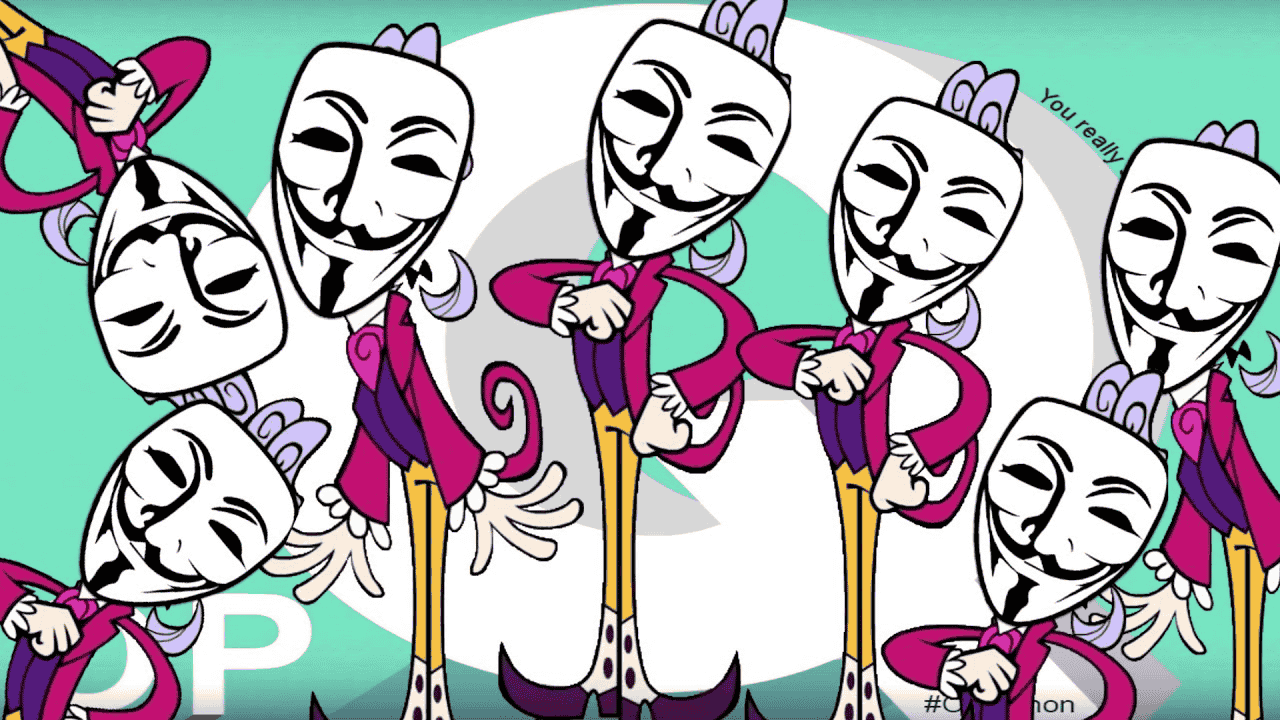 A hacker group Anonymous gives declaration of declaration of war to