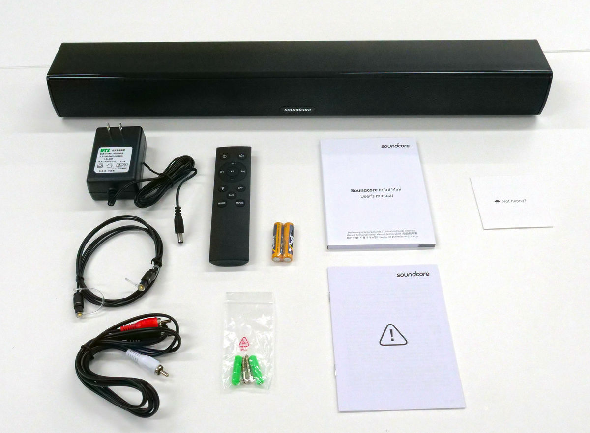 I tried using Bluetooth compatible sound bar Anker