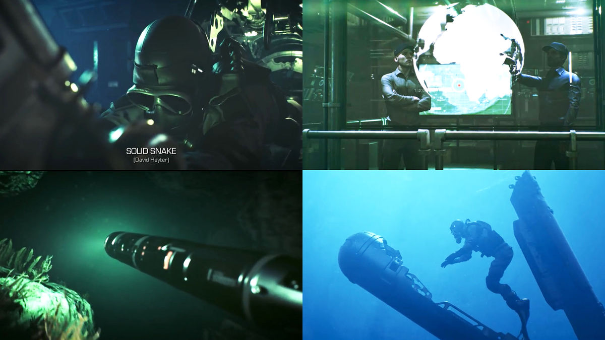 A movie remadeing 'Metal Gear Solid' opening movie released