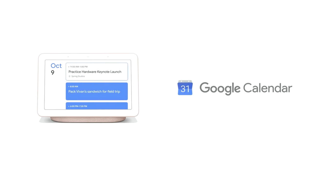 Google Announces Display Google Home Hub To Be A Smart Home