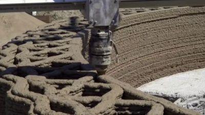 3Dプリンターを使い10万円台の材料費で小屋が作れるように