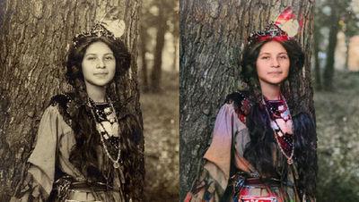 100年以上前の白黒写真をディープラーニングで鮮やかなカラー写真に