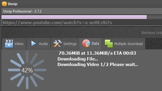 Usnip' that you can download with movies of YouTube and