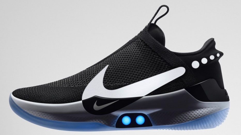 Nike released the  Adapt BB  automatic adjustment shoes without straps at a  half price of the past 1b13e666864b