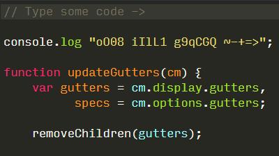 O(オー)と0(ゼロ)など紛らわしい文字が見分けやすくなるプログラミング用の無料フォントをまとめた「Programming Fonts」