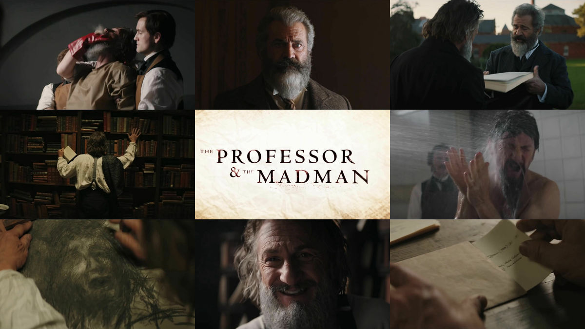 Movie 'The Professor And The Madman' trailer depicting a true story