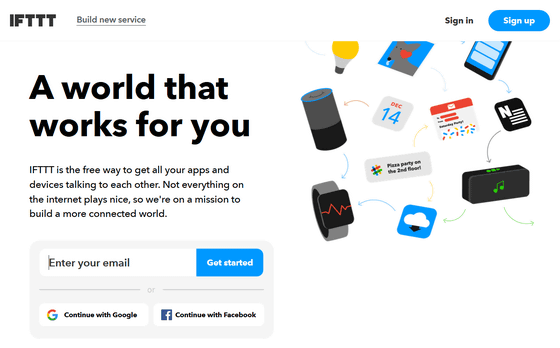 It seems to discontinue the support of 'IFTTT' which links