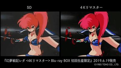 【OVA】「幻夢戦記レダ」4KリマスターでBlu-ray BOX化、ケースはいのまたむつみ描き下ろし