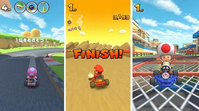 During The Closed Beta Test Of Mario Kart Tour Where Marikar Can
