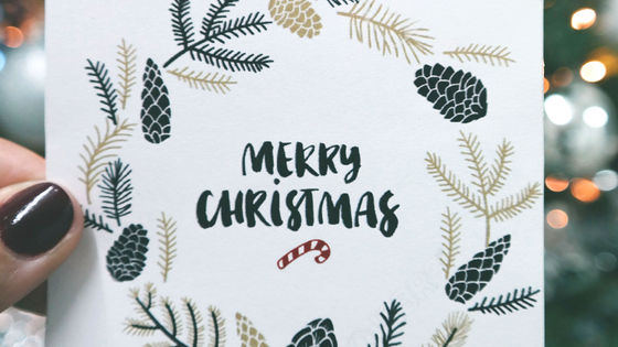 """Photo of """" Message that Chinese prisoners complain of forced labor '' mixed in children's Christmas card"""