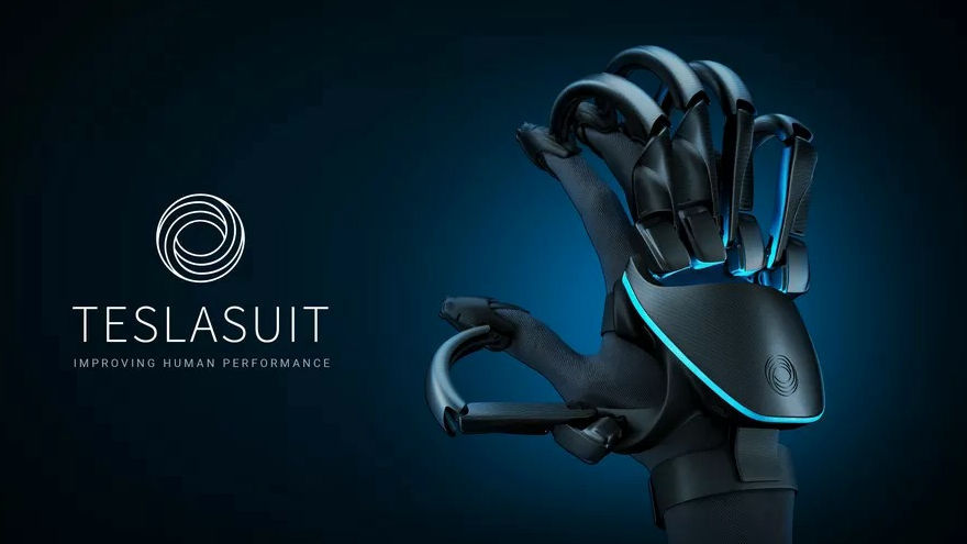 "Photo of A VR glove "" Teslasuit Glove '' that conveys the tactile sensation of objects in virtual space has appeared, with a function to measure pulse"