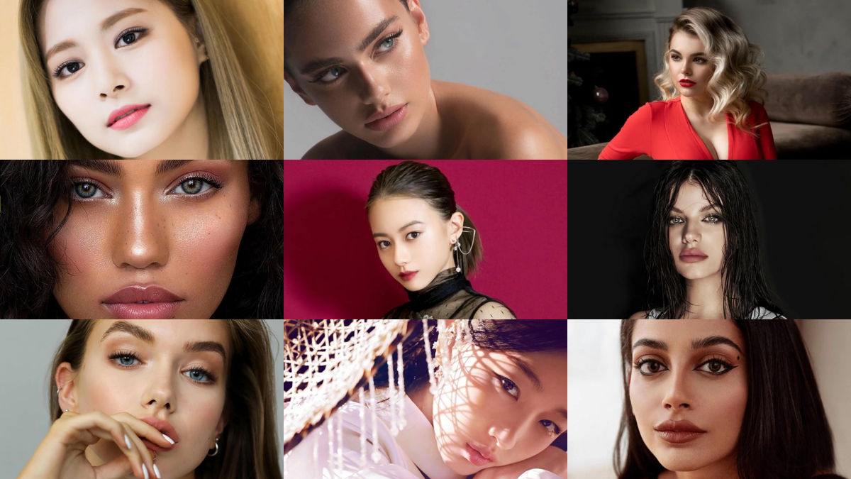 "Photo of "" The world's most beautiful face best 100 (2019 version) '' All images summary"