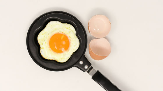 "Photo of Research results that "" overeating of eggs does not lead to heart disease etc. ''"