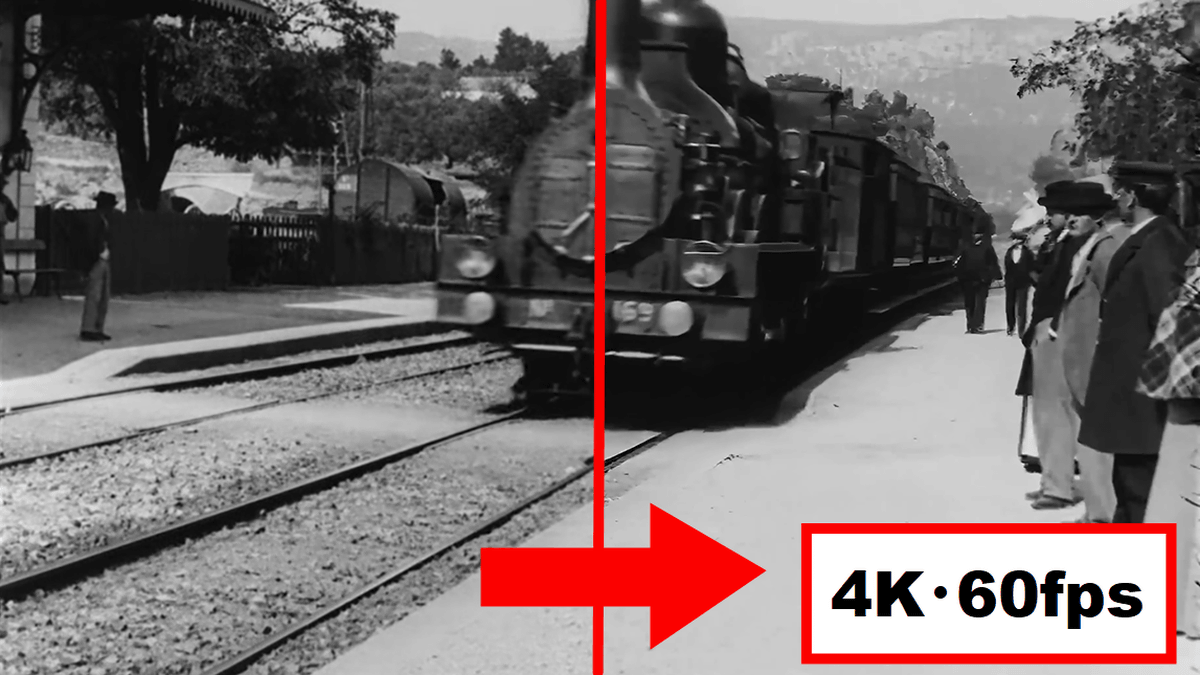 "Photo of When the "" world's oldest movie '' more than 120 years ago is reborn as 4K image quality60 fps, it looks like this"