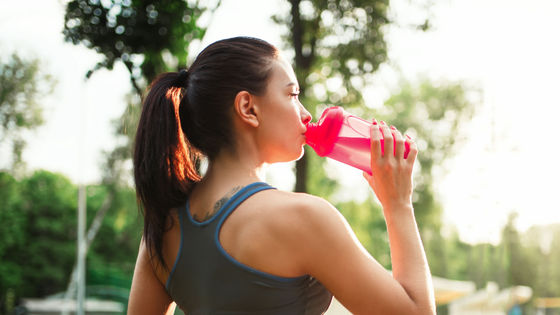 """Photo of Research results that the """" electrolyte '' contained in sports drinks has no meaning"""