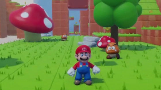 """Photo of Fan's own """" Mario that can be played on PS 4 '' will be deleted after receiving a complaint from Nintendo"""