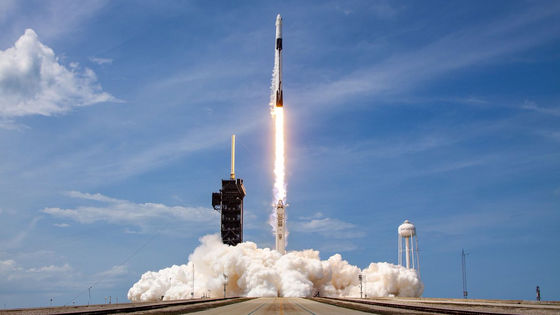 Photo of Launch movie & photo summary of America's first private spaceship by NASA and SpaceX