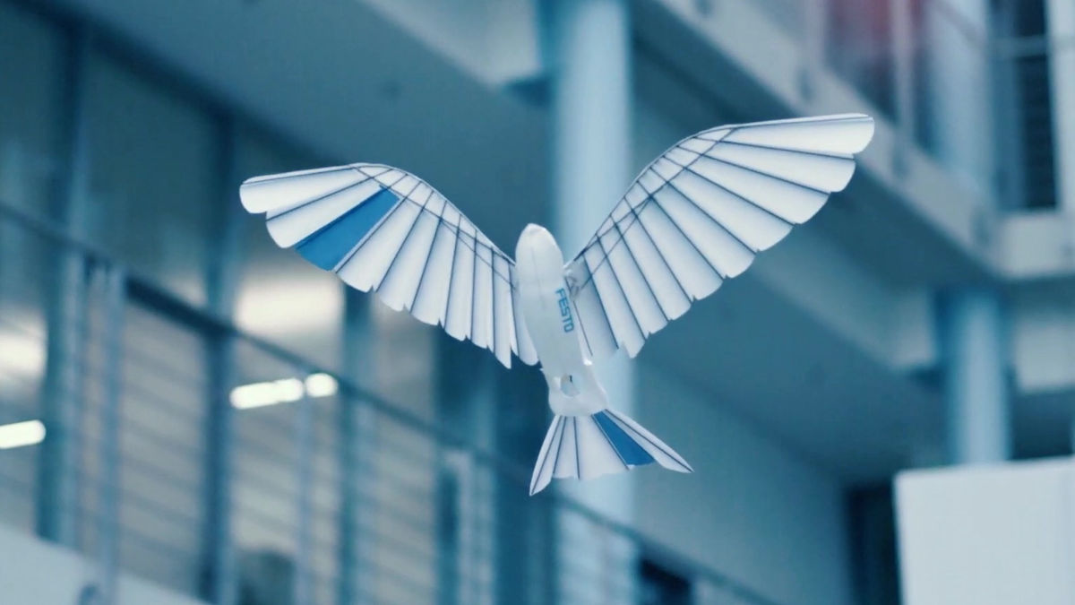 "Photo of A bird type robot ""Bionic Swift'' that flares in a transcendental appearance has appeared, and there is also a movie that you can check the state of actually flapping"